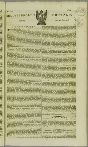 Middelburgsche Courant 1825-02-15