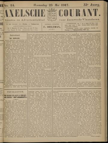 Axelsche Courant 1917-05-23