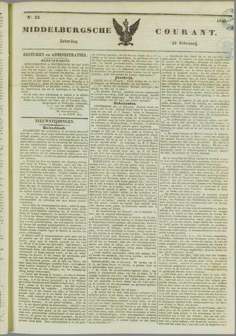 Middelburgsche Courant 1846-02-21