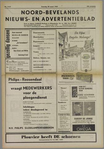 Noord-Bevelands Nieuws- en advertentieblad 1965-03-20