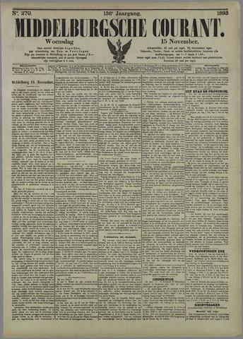 Middelburgsche Courant 1893-11-15