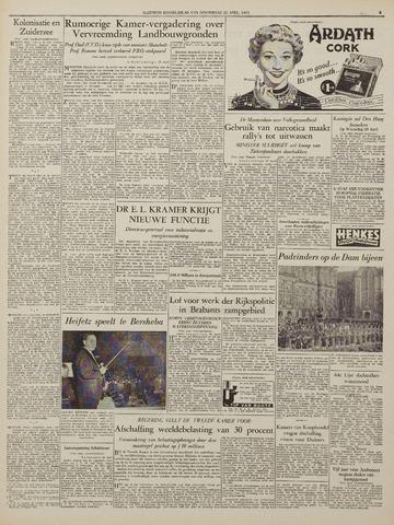 Watersnood documentatie 1953 - kranten 1953-04-23