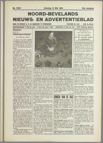 Noord-Bevelands Nieuws- en advertentieblad 1949-05-14