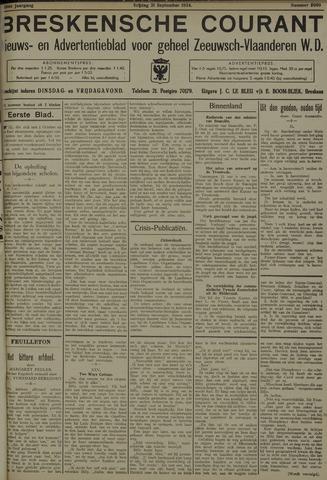 Breskensche Courant 1934-09-21