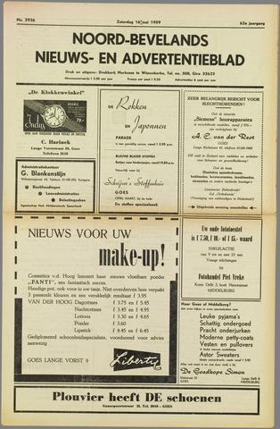 Noord-Bevelands Nieuws- en advertentieblad 1959-05-16