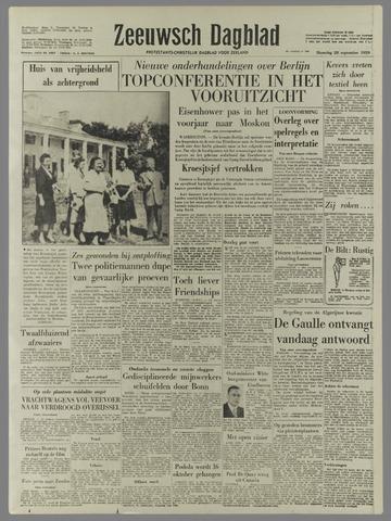 Zeeuwsch Dagblad 1959-09-28