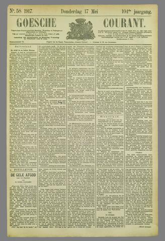 Goessche Courant 1917-05-17