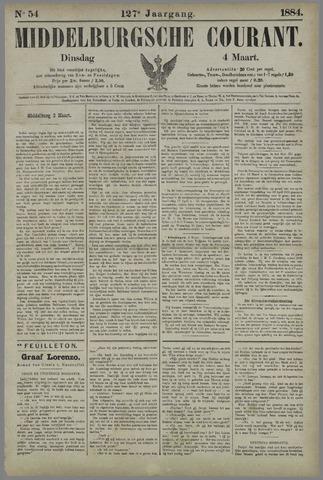 Middelburgsche Courant 1884-03-04