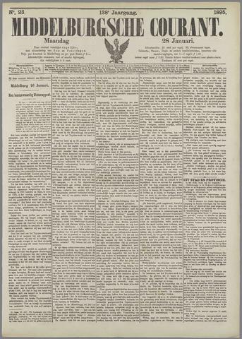 Middelburgsche Courant 1895-01-28