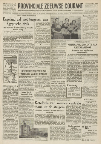 Provinciale Zeeuwse Courant 1953-05-12