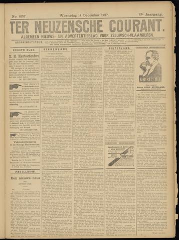 Ter Neuzensche Courant. Algemeen Nieuws- en Advertentieblad voor Zeeuwsch-Vlaanderen / Neuzensche Courant ... (idem) / (Algemeen) nieuws en advertentieblad voor Zeeuwsch-Vlaanderen 1927-12-14
