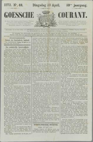 Goessche Courant 1872-04-23