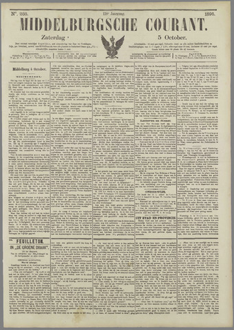 Middelburgsche Courant 1895-10-05