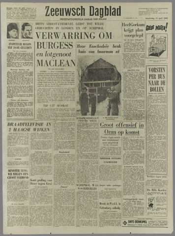 Zeeuwsch Dagblad 1962-04-19