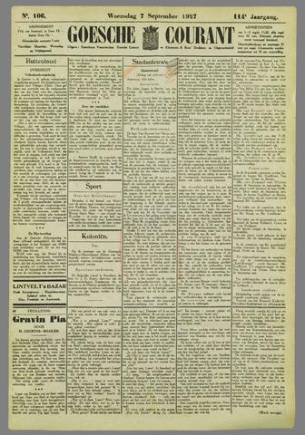 Goessche Courant 1927-09-07