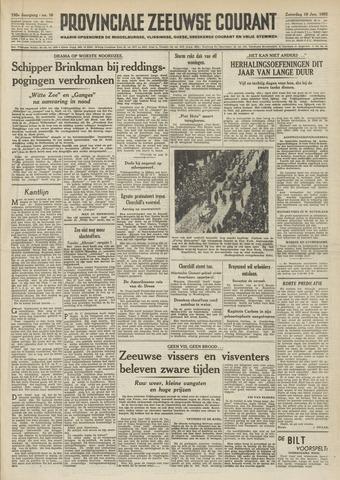 Provinciale Zeeuwse Courant 1952-01-19