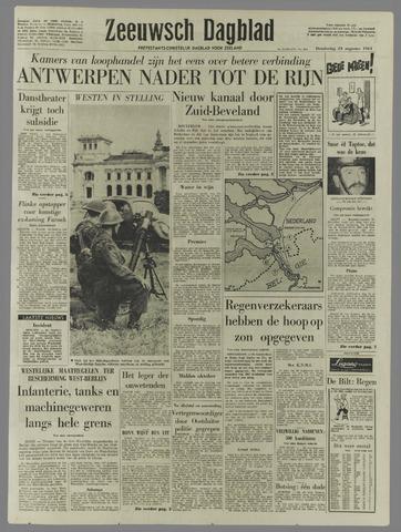 Zeeuwsch Dagblad 1961-08-24