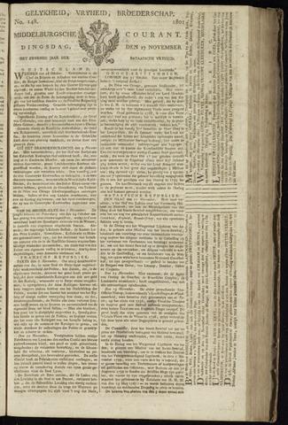 Middelburgsche Courant 1801-11-17