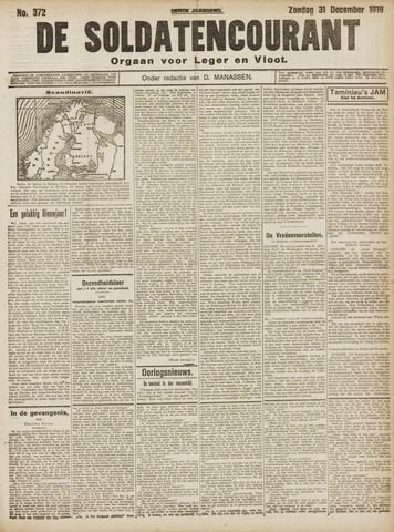 De Soldatencourant. Orgaan voor Leger en Vloot 1916-12-31