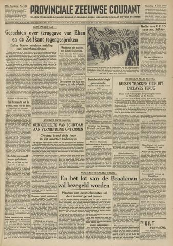 Provinciale Zeeuwse Courant 1952-06-09