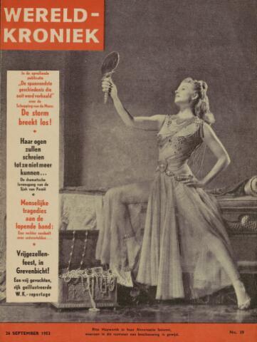 Watersnood documentatie 1953 - tijdschriften 1953-09-26