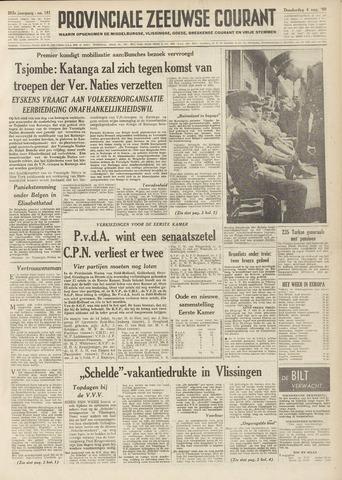 Provinciale Zeeuwse Courant 1960-08-04