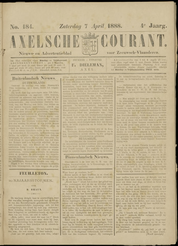 Axelsche Courant 1888-04-07