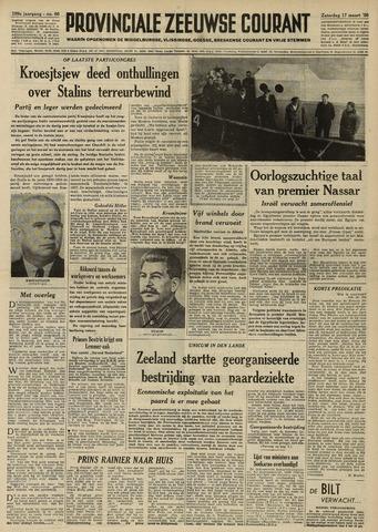 Provinciale Zeeuwse Courant 1956-03-17