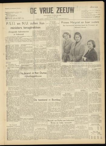 de Vrije Zeeuw 1956-01-19