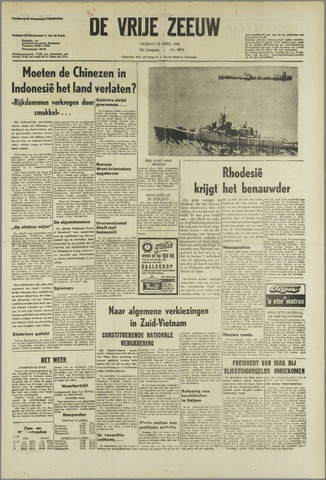 de Vrije Zeeuw 1966-04-15