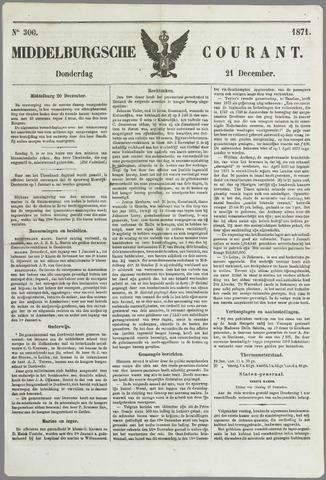 Middelburgsche Courant 1871-12-21
