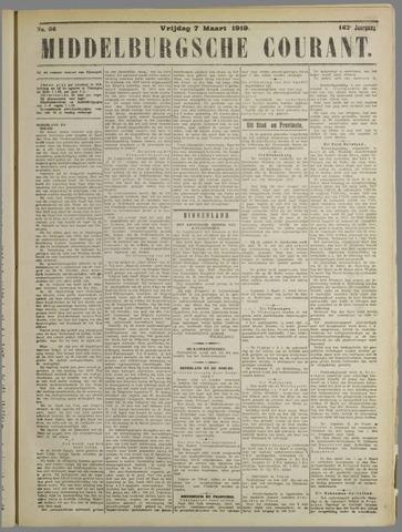 Middelburgsche Courant 1919-03-07