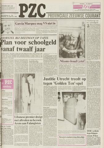 Provinciale Zeeuwse Courant 1983-08-18