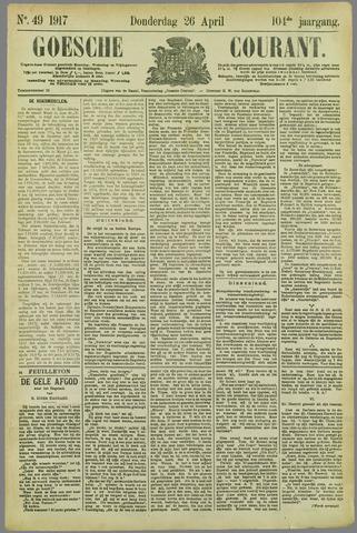 Goessche Courant 1917-04-26