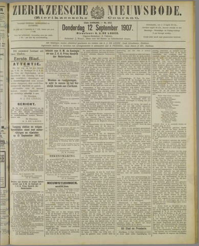Zierikzeesche Nieuwsbode 1907-09-12