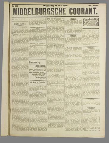 Middelburgsche Courant 1925-07-15
