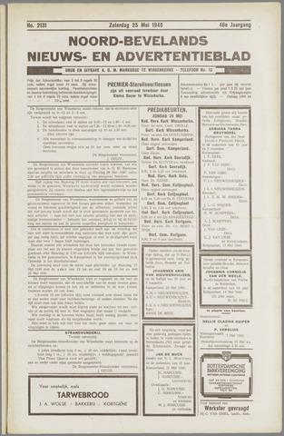 Noord-Bevelands Nieuws- en advertentieblad 1940-05-25