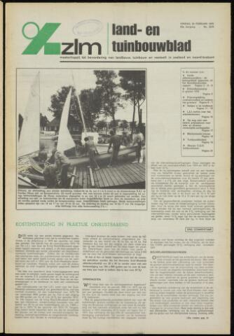Zeeuwsch landbouwblad ... ZLM land- en tuinbouwblad 1975-02-28