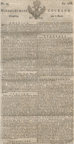 Middelburgsche Courant 1768-03-08