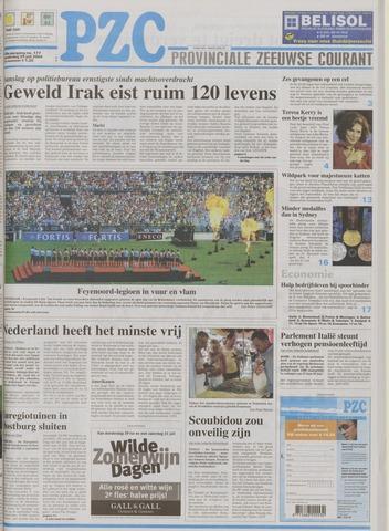 Provinciale Zeeuwse Courant 2004-07-29
