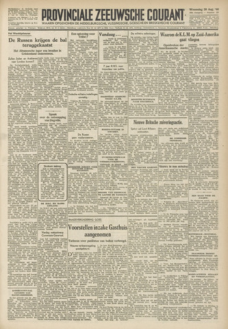 Provinciale Zeeuwse Courant 1946-08-28