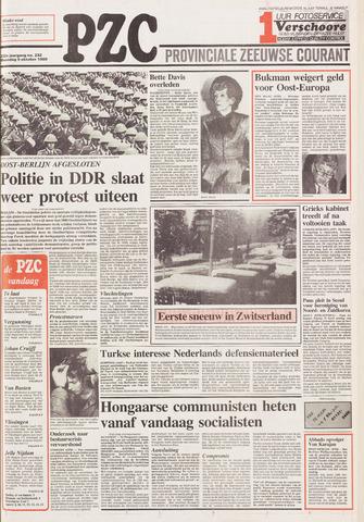 Provinciale Zeeuwse Courant 1989-10-09