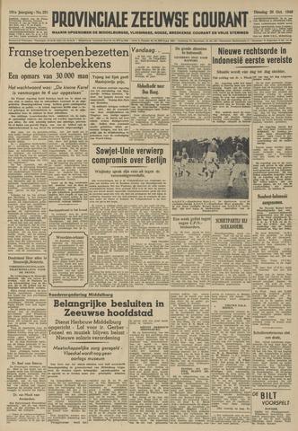 Provinciale Zeeuwse Courant 1948-10-26