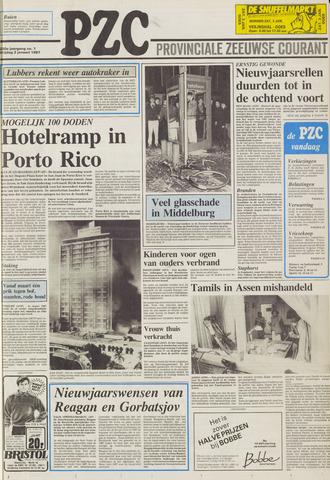 Provinciale Zeeuwse Courant 1987