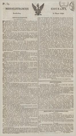 Middelburgsche Courant 1829-03-19