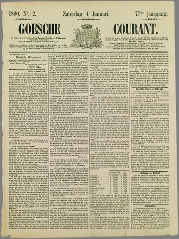 Goessche Courant 1890-01-04