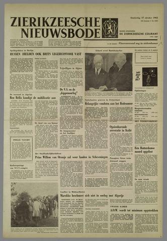 Zierikzeesche Nieuwsbode 1963-10-17