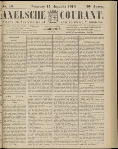 Axelsche Courant 1910-08-17