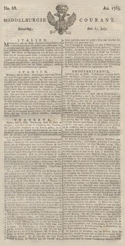 Middelburgsche Courant 1763-07-23