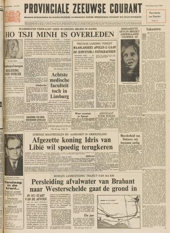 Provinciale Zeeuwse Courant 1969-09-04